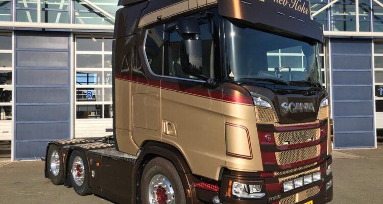 Nieuwe Truck Firma Hoks